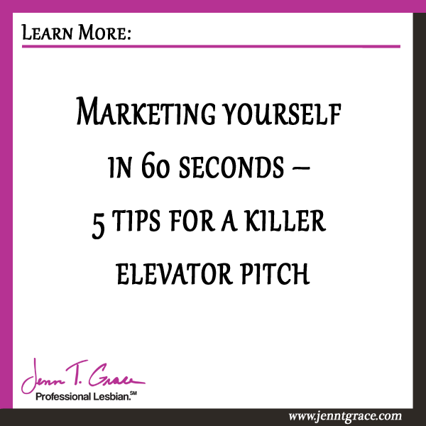 Elevator pitch on yourself
