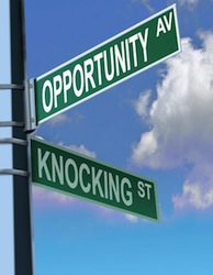 Small Business - Opportunity and Knocking