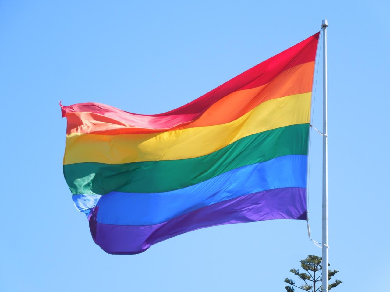 LGBT Rainbow Pride Flag - Jenn T. Grace