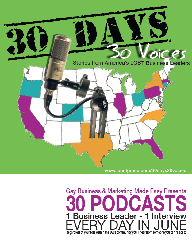 30 days – 30 voices – Stories from America's LGBT Business Leaders