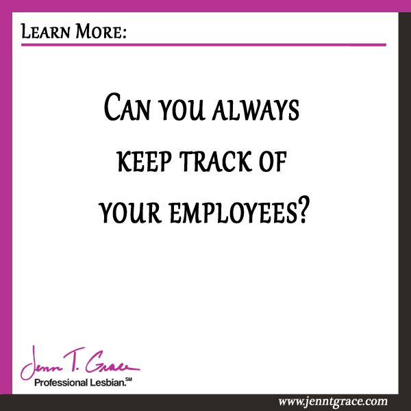 keeping track of employees