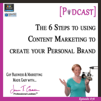 #78: The 6 Steps to using Content Marketing to create your Personal Brand [Podcast]