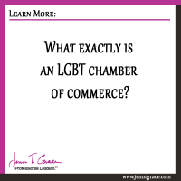 What exactly is an LGBT chamber of commerce?