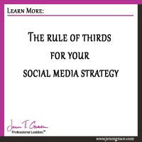 The rule of thirds for your social media strategy