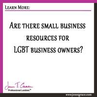 Are there small business resources for LGBT business owners?