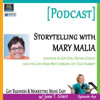 #32: Storytelling with Mary Malia [Podcast]