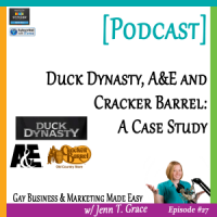 #27: Duck Dynasty, A&E and Cracker Barrel: A Case Study [Podcast]