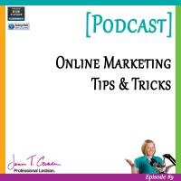 #009: Online Marketing Tips  & Tricks [Podcast]