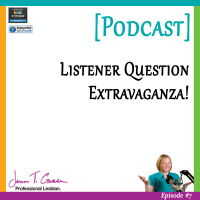 #007: Listener Question Extravaganza! [Podcast]