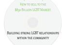Building strong LGBT relationships within the community