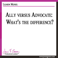 Ally versus Advocate: What's the difference?
