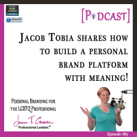 #85: Jacob Tobia Shares How to Build a Personal Brand Platform with Meaning [Podcast]
