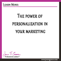 The Power of Personalization in Your Marketing