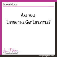 Are you 'Living the Gay Lifestyle?'