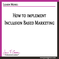 How to implement Inclusion Based Marketing