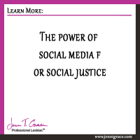 The power of social media for social justice