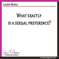 What exactly is a sexual preference?