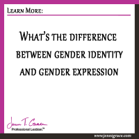 What's the difference between gender identity and gender expression