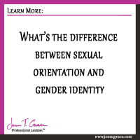 What's the difference between sexual orientation and gender identity?