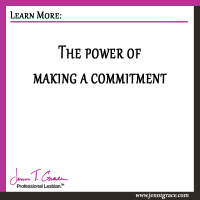 The power of making a commitment