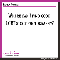 Where can I find good LGBT stock photography?
