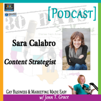 "Storytelling with Sara Calabro for ""30 Days – 30 Voices – Stories from America's LGBT Business Leaders"" [Podcast]"