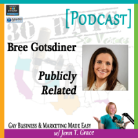 "Storytelling with Bree Gotsdiner for ""30 Days – 30 Voices – Stories from America's LGBT Business Leaders"" [Podcast]"