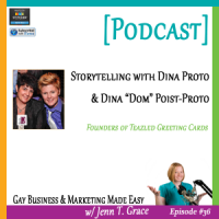 #36: Storytelling with Dina & Dom of Teazled LGBT Greeting Cards [Podcast]