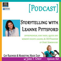#28: Storytelling with Leanne Pittsford [Podcast]