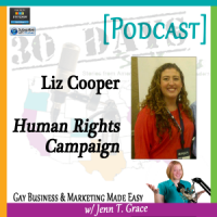 "Storytelling with Liz Cooper for ""30 Days – 30 Voices – Stories from America's LGBT Business Leaders"" [Podcast]"