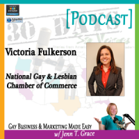 "Storytelling with Victoria Fulkerson for ""30 Days – 30 Voices – Stories from America's LGBT Business Leaders"" [Podcast]"