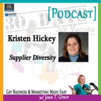 "Storytelling with Kristen Hickey for ""30 Days – 30 Voices – Stories from America's LGBT Business Leaders"" [Podcast]"
