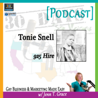 "Storytelling with Tonie Snell for ""30 Days – 30 Voices – Stories from America's LGBT Business Leaders"" [Podcast]"
