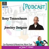 "Storytelling with Rony Tennenbaum for ""30 Days – 30 Voices – Stories from America's LGBT Business Leaders"" [Podcast]"
