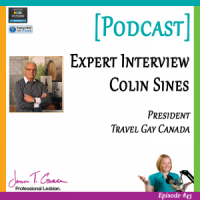 #43: Interview with LGBT travel & tourism expert, Colin Sines [Podcast]