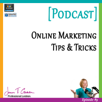 #009: Online Marketing Tips  & Tricks [Podcast]