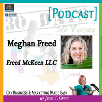 "Meghan Freed Interview for ""30 Days – 30 Voices – Stories from America's LGBT Business Leaders"" [Podcast]"