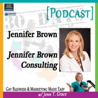 "Storytelling with Jennifer Brown for ""30 Days – 30 Voices – Stories from America's LGBT Business Leaders"" [Podcast]"